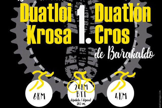 Cartel del duatlón cross