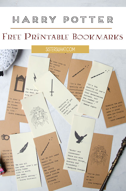 Harry Potter famous quotes printables