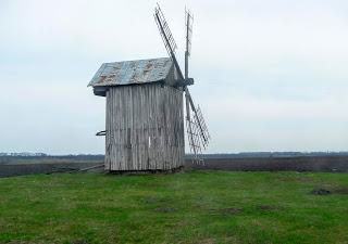 Дорога Миргород-Дибровка. Деревянная мельница