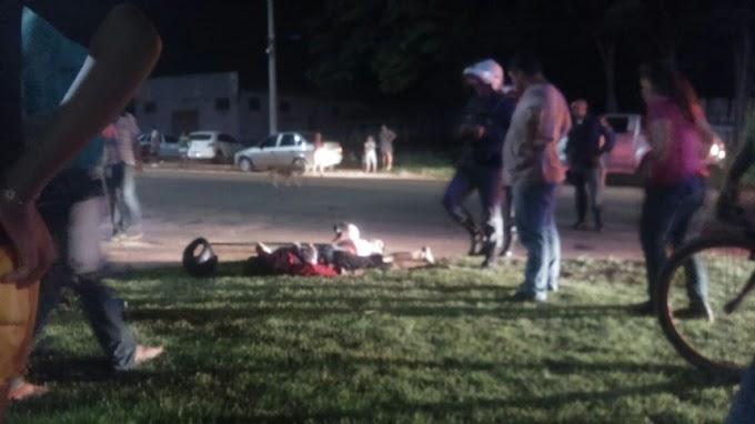 URGENTE! Dois Homens são alvejados à bala no Parque Independência, uma das vítimas está em estado grave.