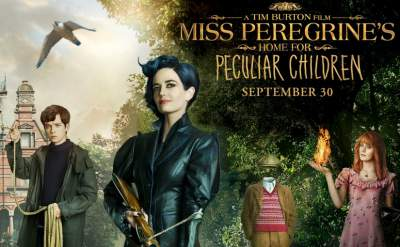Miss Peregrine's Home for Peculiar Children (2016) 3D Movie H-OU Hindi Dual Audio Download 1080p