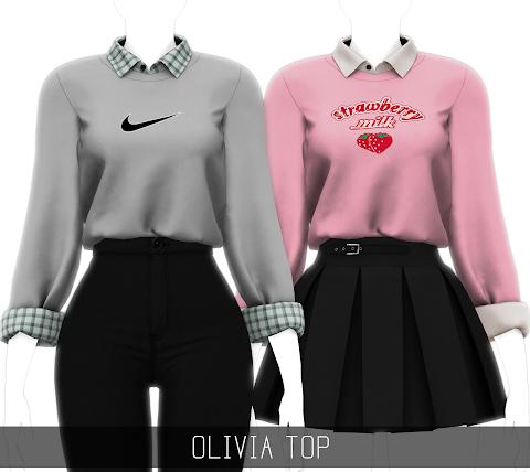 OLIVIA TOP (PATREON)