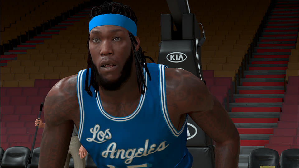 Montrezl Harrell Cyberface, Hair and Body Model (Current Look) By 8MB Rockmod [FOR 2K21]