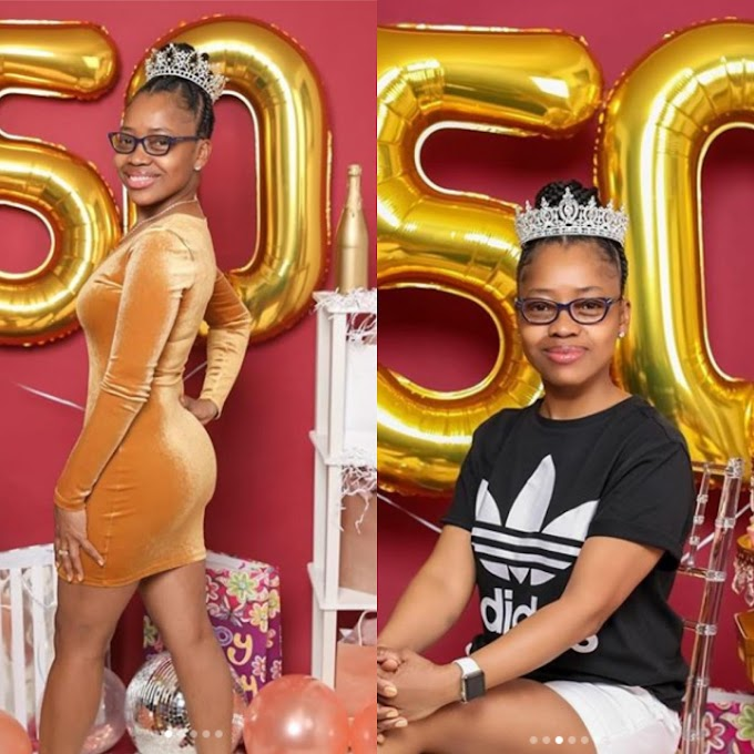 ARGUMENT GOING ON IN INSTAGRAM AS LADY DROP HER  50TH BIRTHDAY PICTURES, (WATCH THE PHOTOS).