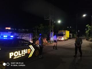 Unit Sabhara Polsek Wajo Tingkatkan Patroli Malam Hari