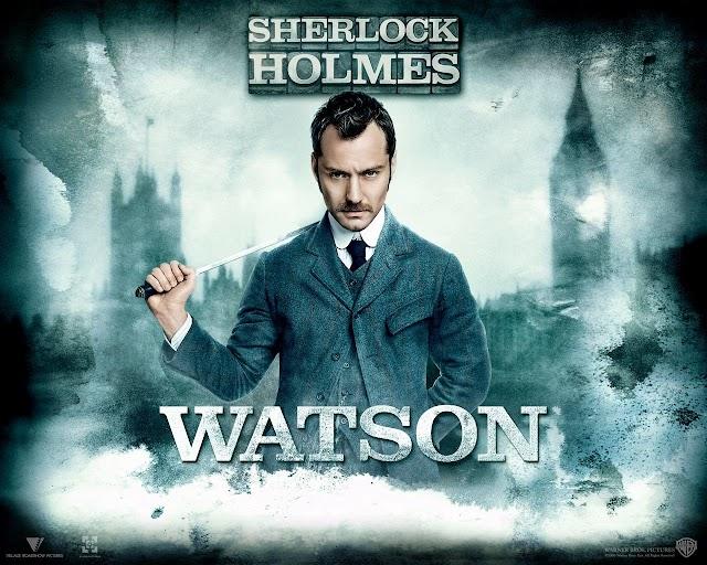 Descarca wallpaper-e cu personajele din filmul Sherlock Holmes (2009)