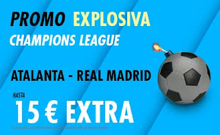 suertia promo Atalanta vs Real Madrid 24-2-2021