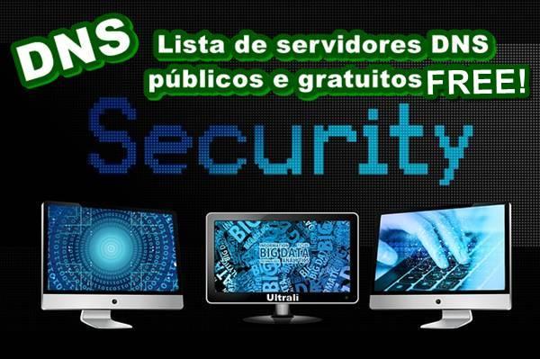 servidores DNS públicos
