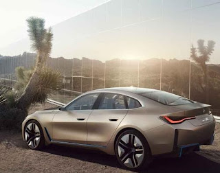 BMW i4 electric مواصفات سيارة بي إم دبليو الكهربائية BMW i4 سيارة بي ام دبليو i4 السيدان الكهربائية