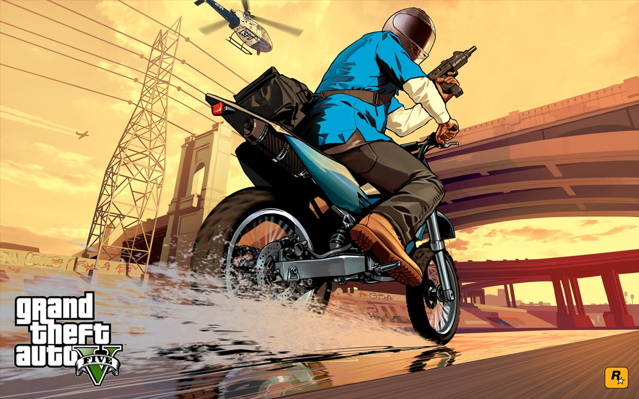 Blogspot online best free hd blog grand - Grand theft auto v wallpaper ...