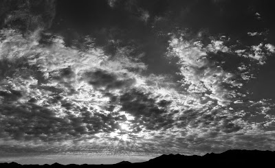 grayscale clouds