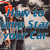 How to Jump A Car Battery