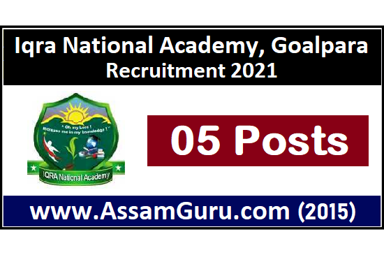 iqra-national-academy-goalpara-job