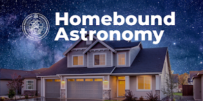 RASC homebound astronomy graphic