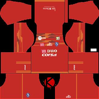 Arema FC Kits 2017/2018 - Dream League Soccer 2017