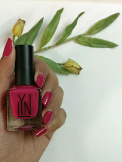 Product Review - Live Your Now ( LYN ) Nail Enamel - Didya Vinka At Me #465