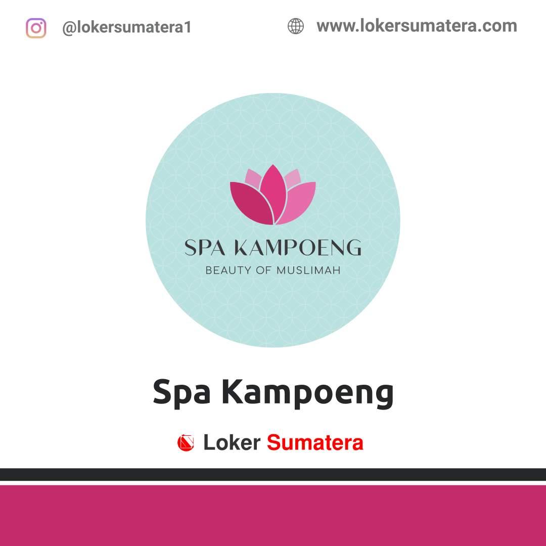 Lowongan Kerja Pekanbaru: Spa Kampoeng Desember 2020