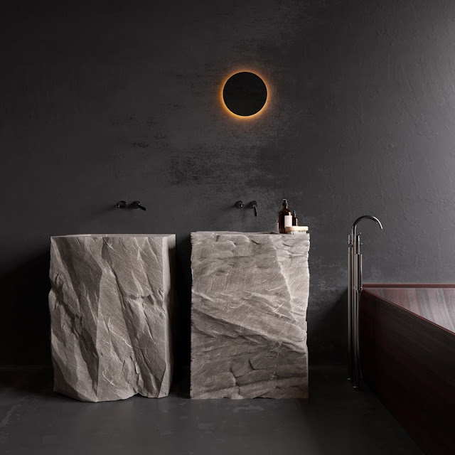 Bathroom Highlighter Tiles Design