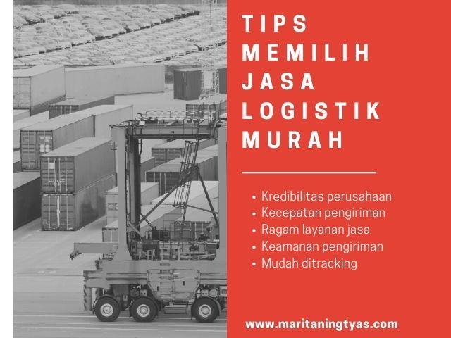 memilih jasa logistik murah