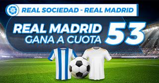 paston megacuota Real Sociedad vs Real Madrid 20-9-2020