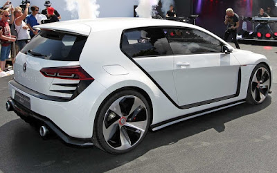 Volkswagen Golf Vision GTI Concept Design