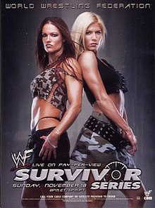WWE / WWF Survivor Series 2001 - Event Poster