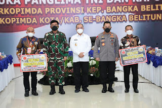 Panglima TNI : TNI-Polri di Babel Harus Bekerja Spartan