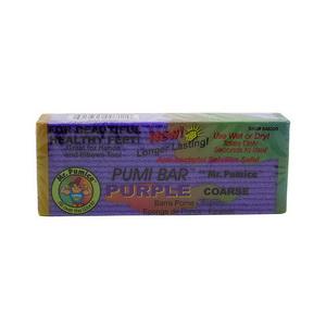Đá Bọt Biển Tím Chà Gót Chân Pumi Bar Purple Coarse Hàng Xách Tay Mỹ