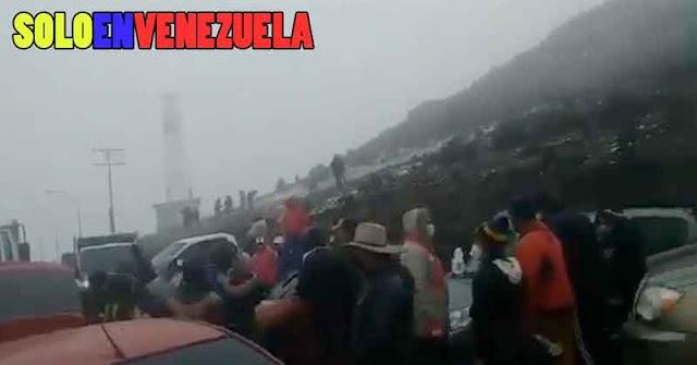 Delincuentes armaron CoronaParty en el Pico El Águila de Mérida