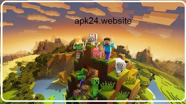 تحميل ماين كرافت مهكرة - Minecraft Mod Apk 1.16.220.02