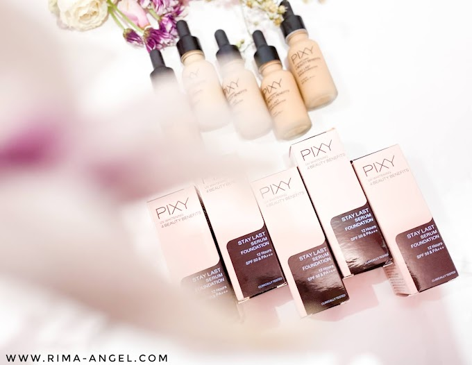 Review Pixy Stay Last Serum Foundation - All Shade
