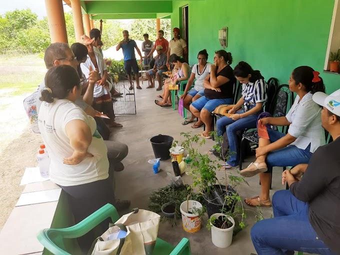 Oficina de Agroecologia da Comissão Gestora do Açude Tucunduba - COGETU