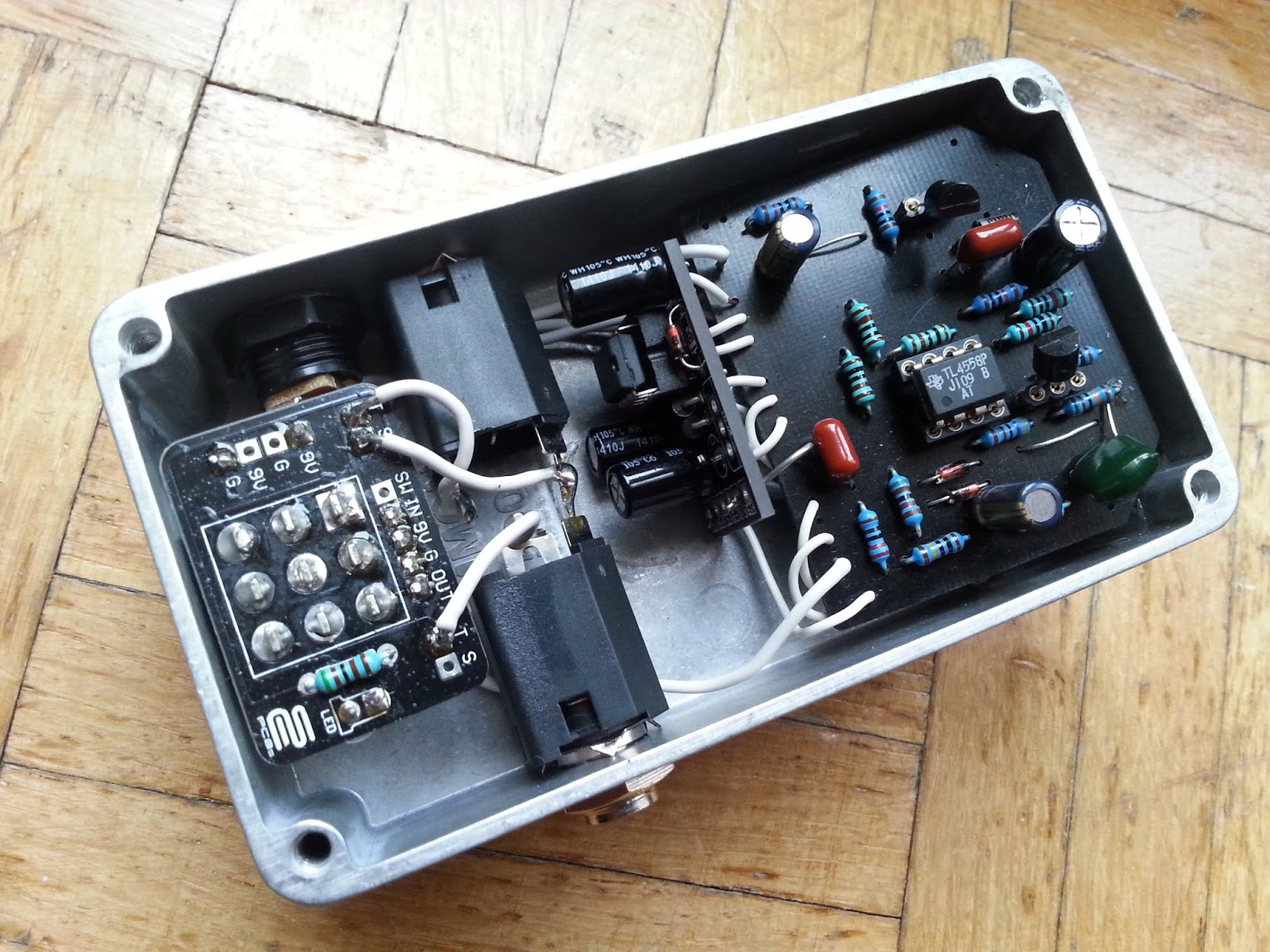 diy guitar pedal blog srv special tube screamer. Black Bedroom Furniture Sets. Home Design Ideas