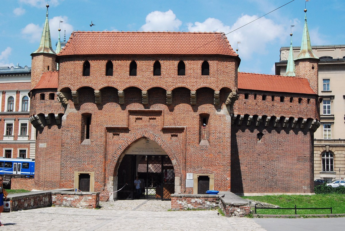 barbacane  Cracovie