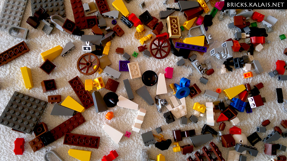 How to clean LEGO bricks?