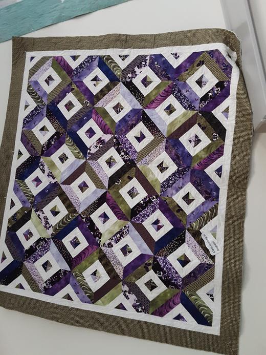 Magic Boxes Quilt designed by Donna Jordan for Jordan Fabrics