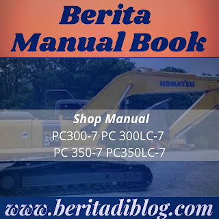 PC300-7 PC 300LC-7 PC 350-7 PC350LC-7 SHOP MANUAL