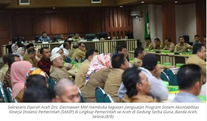 Sekda Aceh menyatakan Aceh Membutuhkan 3.072 PNS Baru