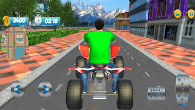 ATV Bike Mountain Taxi Racing Game - APK Download | Bike Taxi Wala Game
