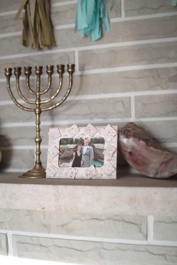 DIY matzah picture frame | Land of Honey