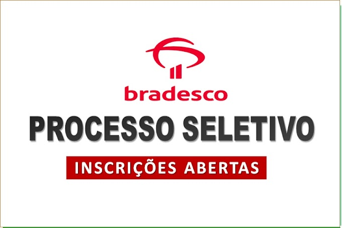 Bradesco está com seleção aberta para mais de 600 vagas. Veja como se inscrever