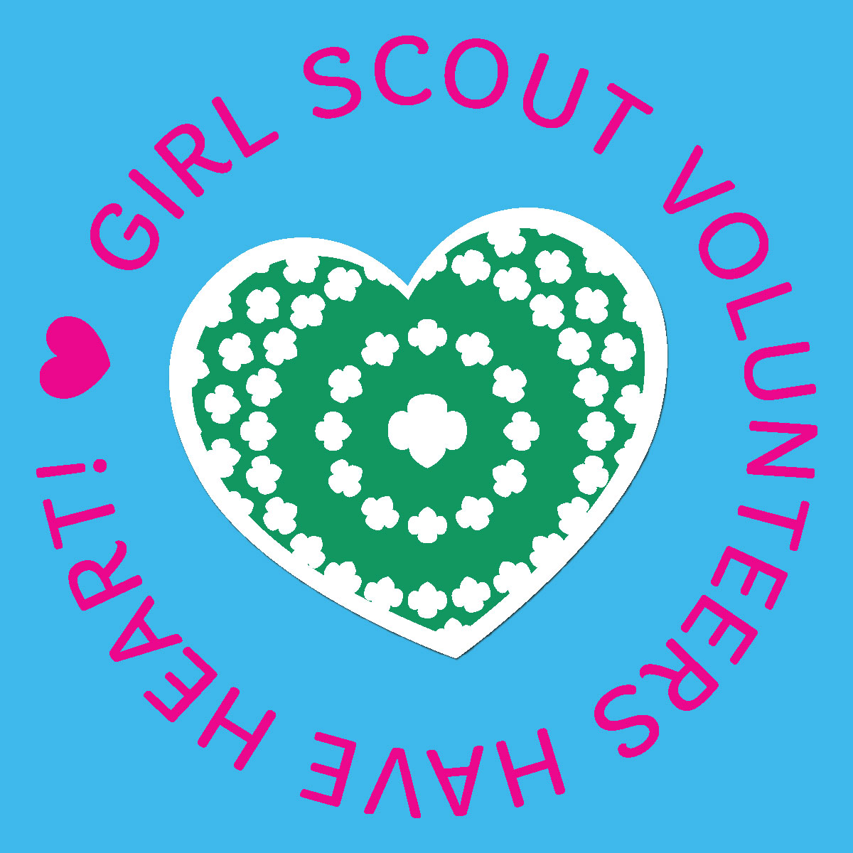 Girl scouts western pennsylvania shout out for volunteers with heart publicscrutiny Image collections