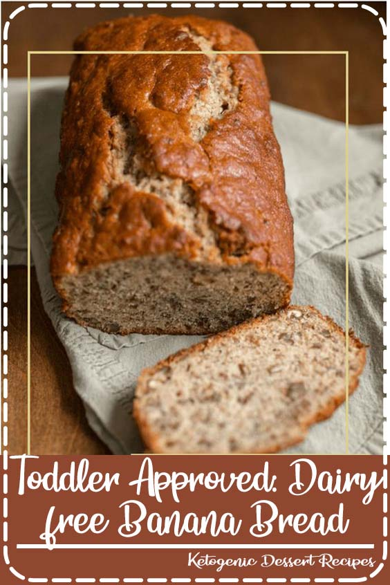 Toddler Approved: Dairy free Banana Bread