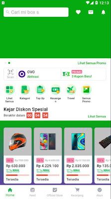 Home - Source Code Tokopedia UI Clone dengan Flutter