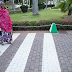 Aisha Buhari pictured taking a walk with her adorable granddaughter at the Presidential Villa