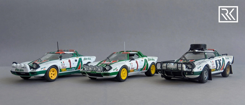 Zdjęcie do artykułu Lancia Stratos HF - porównanie Altaya, Spark i HPI racing