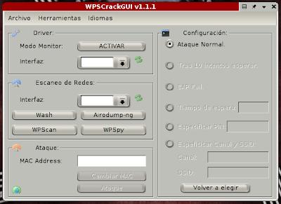 Wireless WPS GUI Cracker - Technical Support Server