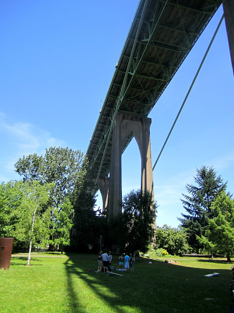 St. John's Bridge, Portland, Oregon