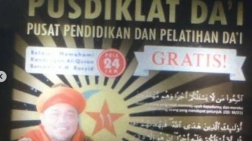 Geger! Ustadz Rosyid di Buahbatu Ngaku Jadi Rasul, Pimpin Pusdiklat Dai