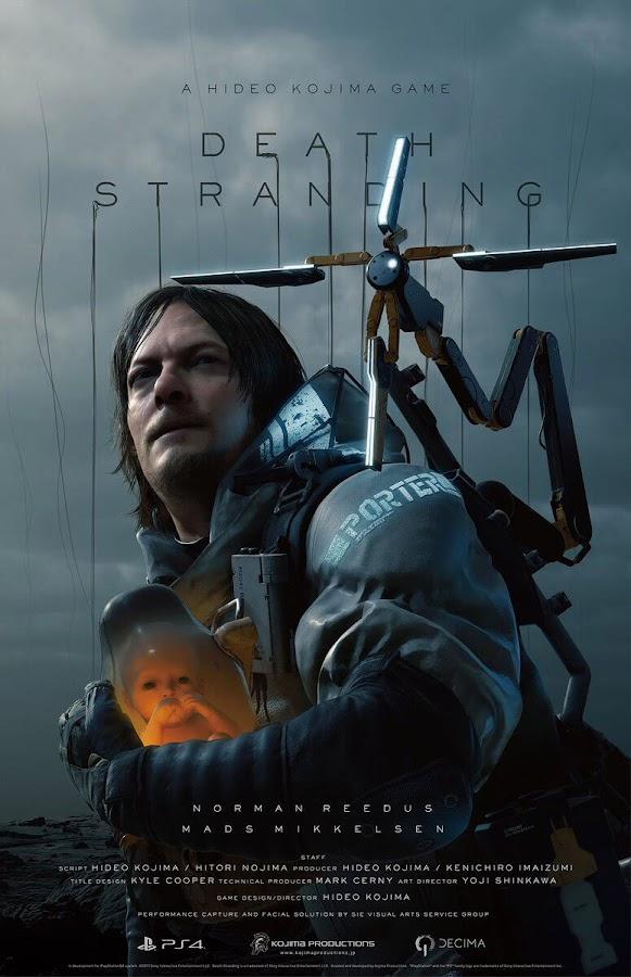 death stranding poster norman reedus